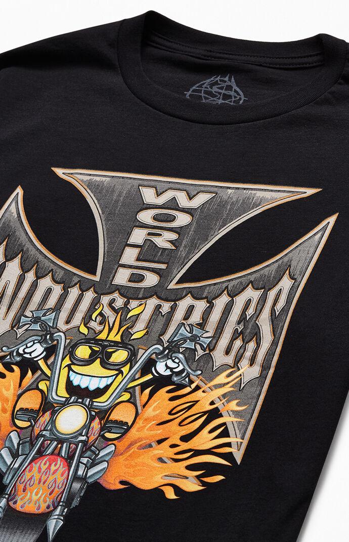 Biker Flame T-Shirt