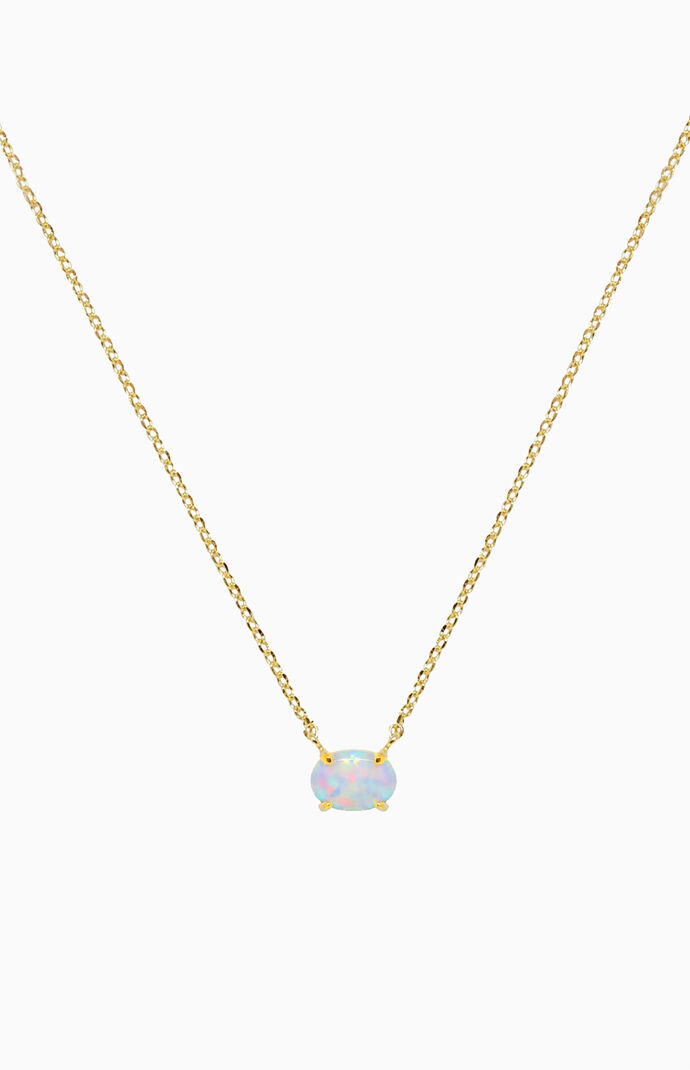 Keepsake Opal Necklace