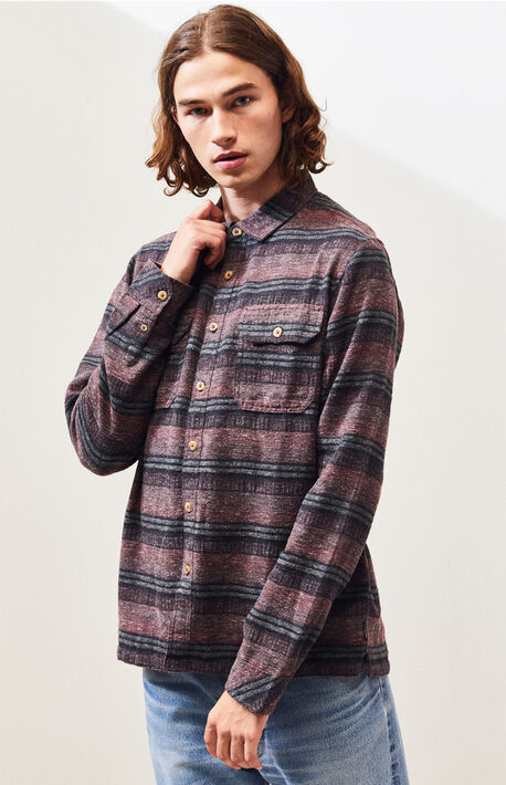 Offshore Striped Flannel Shirt