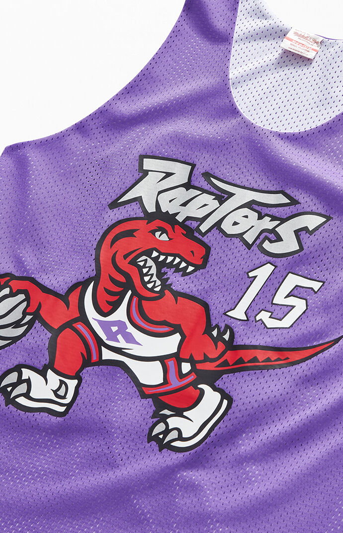 new products 943e8 e0887 Mitchell and Ness Reversible Raptors Carter Jersey | PacSun