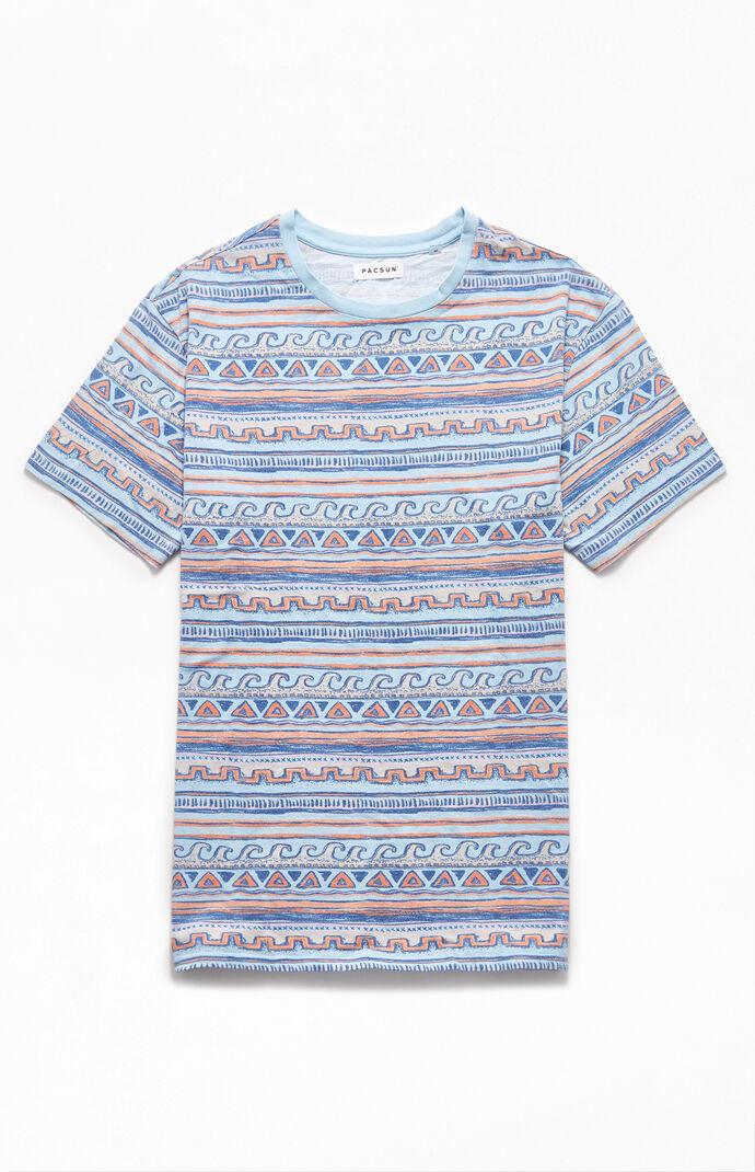 Wavy Printed T-Shirt