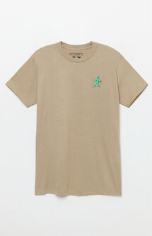 Army Figure Embroidered T-Shirt