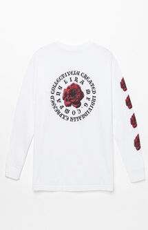 Rose Badge Long Sleeve T-Shirt