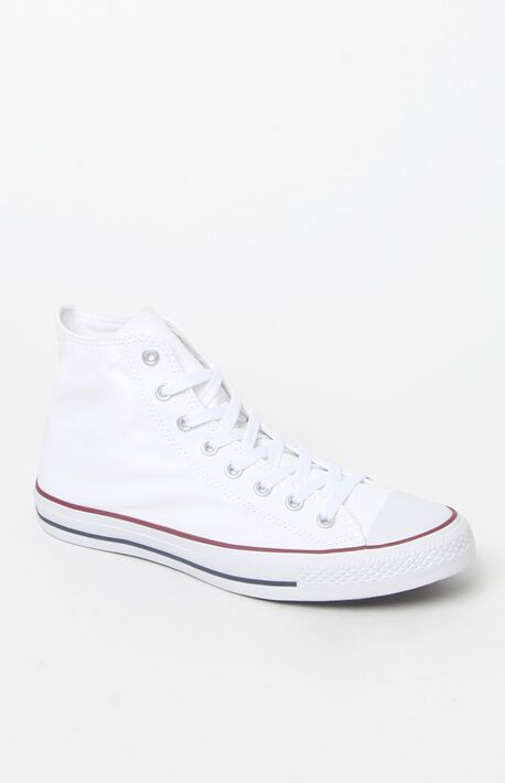 6b023cee5111 Chuck Taylor All Star Hi White Shoes