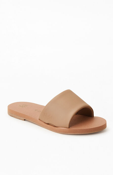 Nude Women's Ellie Noir Slide Sandals