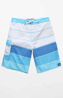 "All Day OG Striped 21"" Boardshorts"