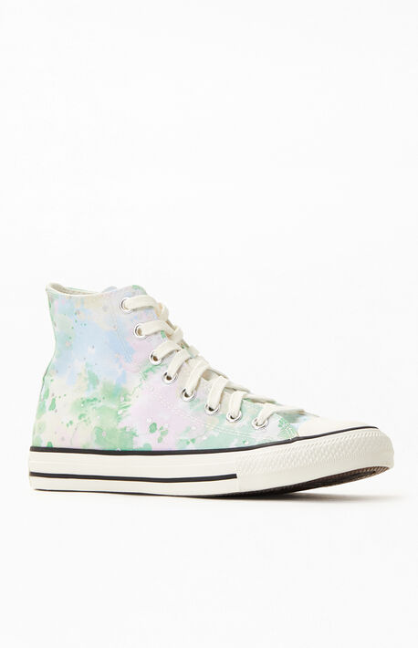 Chuck Taylor All Star Hi Washed Florals Sneakers