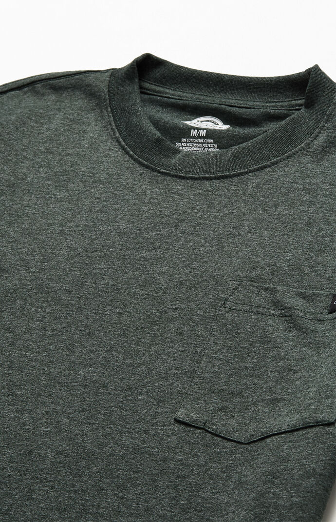 Olive Heavyweight Pocket T-Shirt