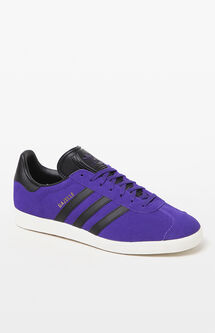 Gazelle Purple & Black Shoes