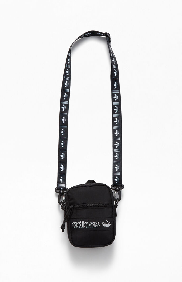 Black & White Festival Crossbody Bag