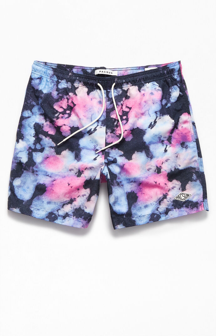 "Splatter 17"" Swim Trunks"