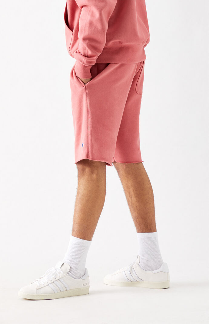 Reverse Weave Cutoff Sweat Shorts