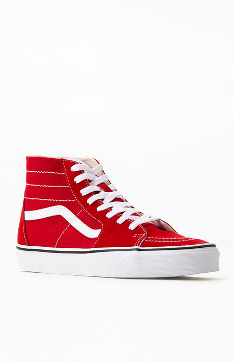 Red SK8-Hi Tapered Sneakers