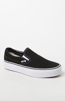 Women's Slip-On Platform Sneakers