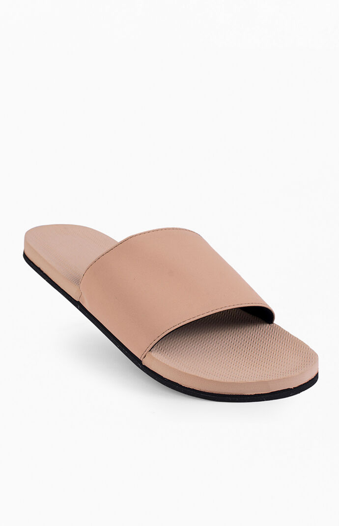Nude ESSNTLS Slide Sandals