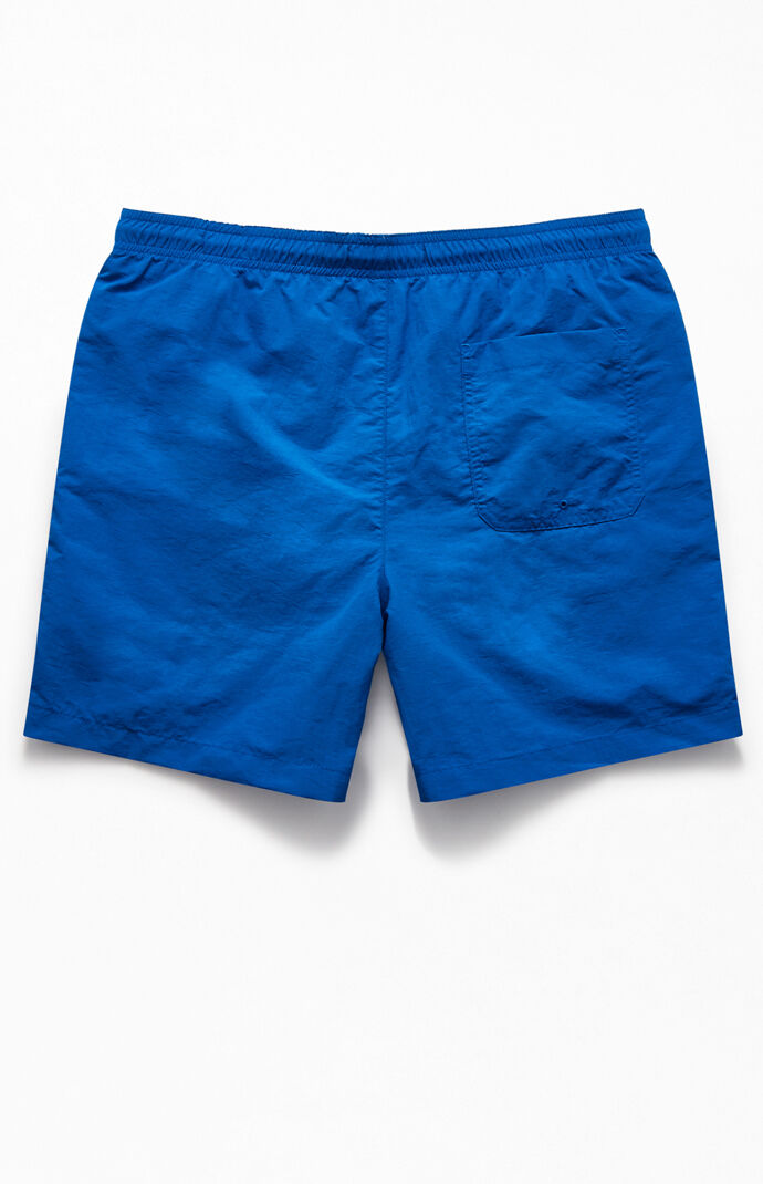 "Nautical Blue 17"" Swim Trunks"