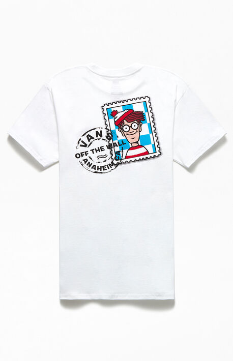 x Where's Waldo Stamp T-Shirt