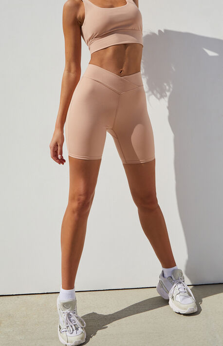 Active Cross Over Bike Shorts