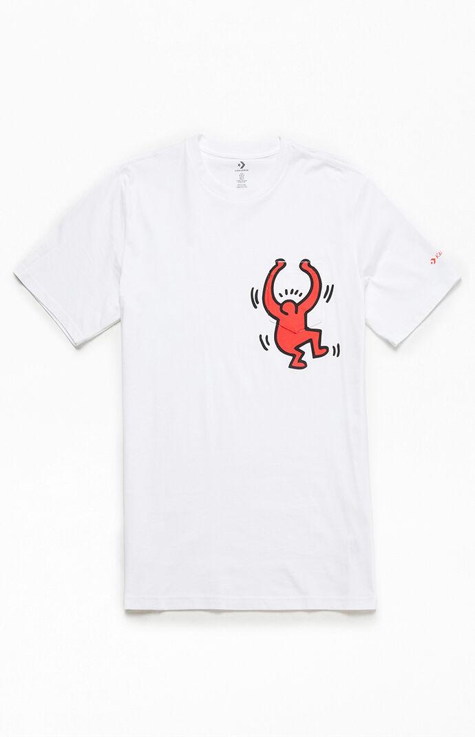 x Keith Haring Graphic Pocket T-Shirt