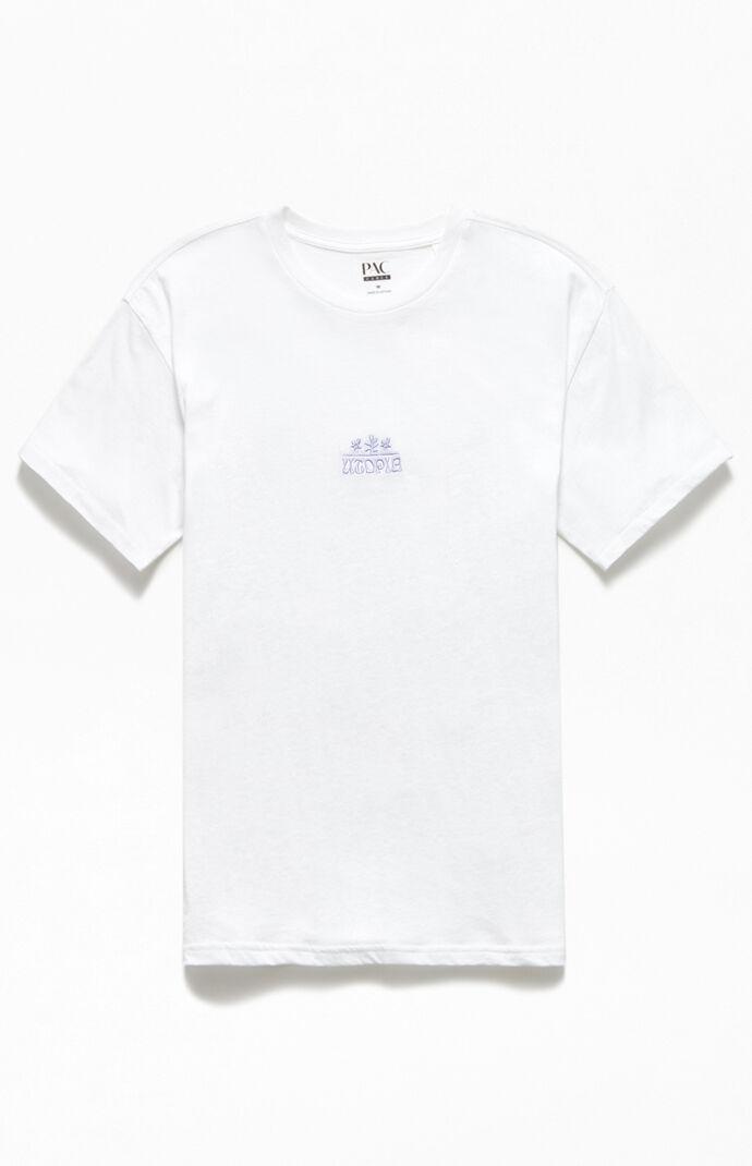 Utopia Embroidered Regular T-Shirt