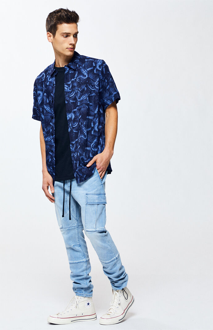 Workwear Light Slim Fit Cargo Pants