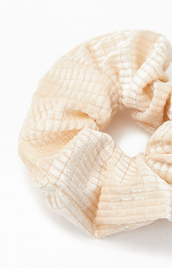 Cream Single Scrunchie