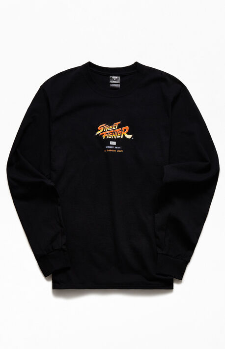 x Street Fighter Ending Long Sleeve T-Shirt