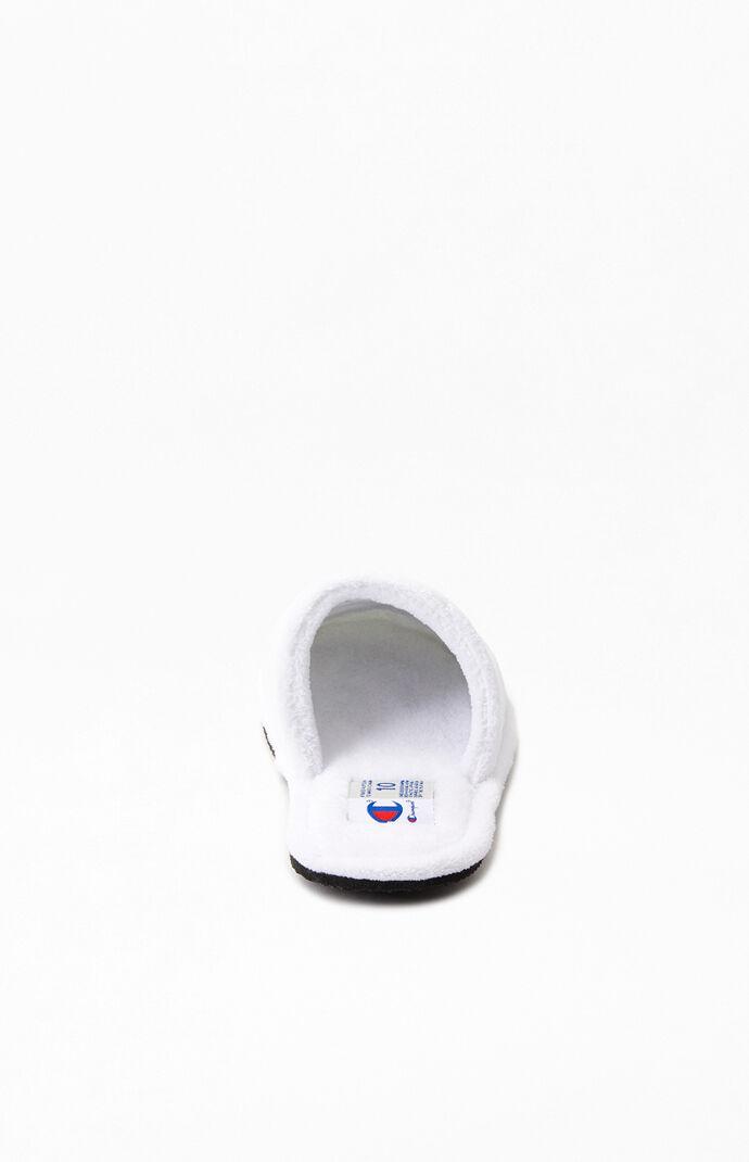 White Sleepover Slippers