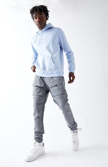 Utility Gray Zip-Off Cargo Pants