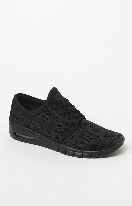 7e92167c923 Stefan Janoski Max Black Shoes · Nike ...
