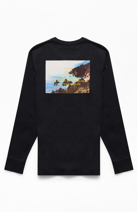 Relaxed Graphic Long Sleeve T-Shirt