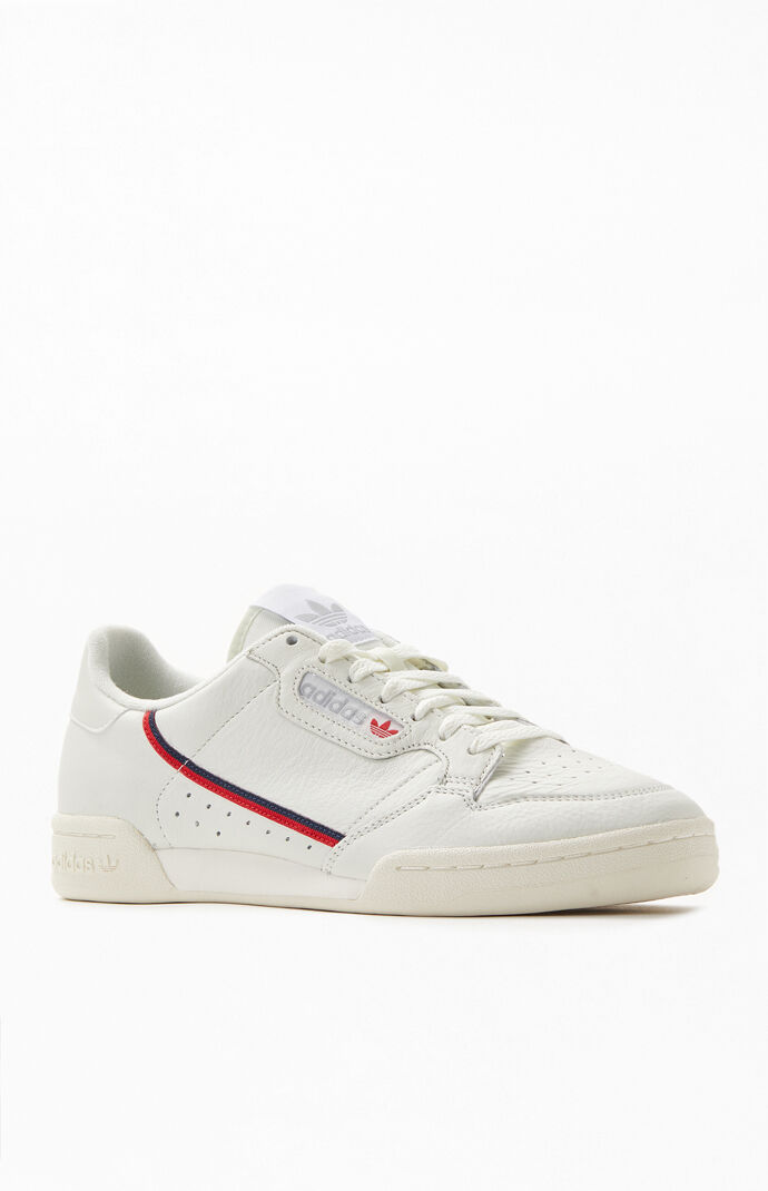 adidas Off White Continental 80 Shoes | PacSun