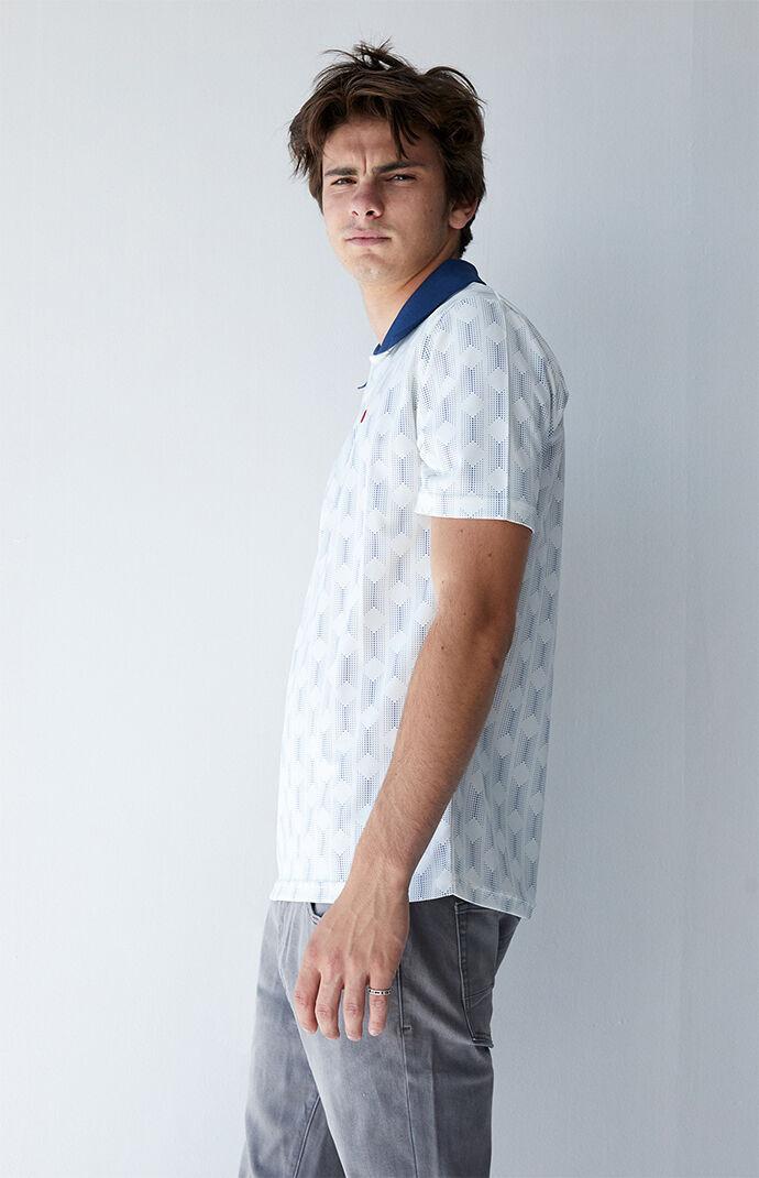 Proper Crossover Mesh Polo Shirt