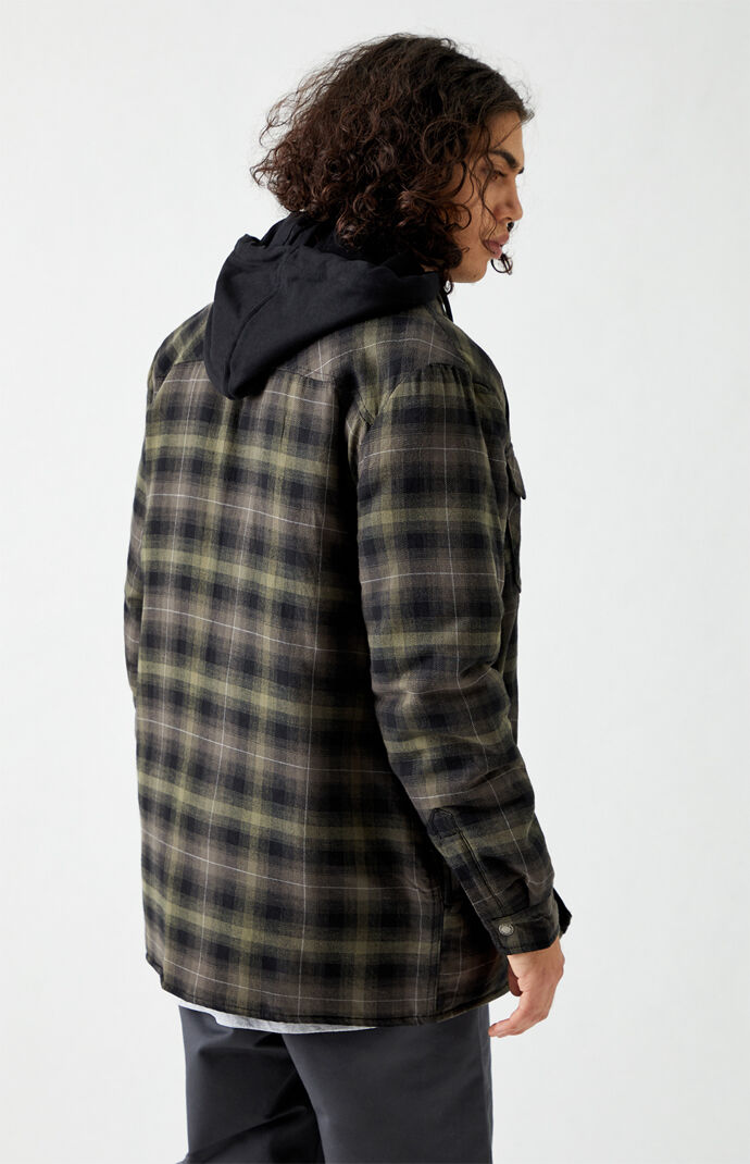 Hooded Flannel Shacket