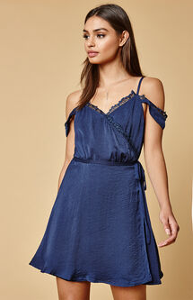 Scarlett Cold Shoulder Babydoll Dress