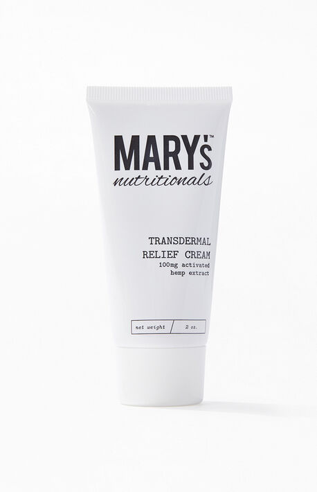 Transdermal CBD Relief Cream