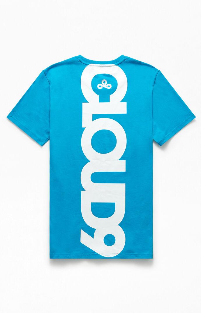 x Cloud9 Blue Corrupted T-Shirt