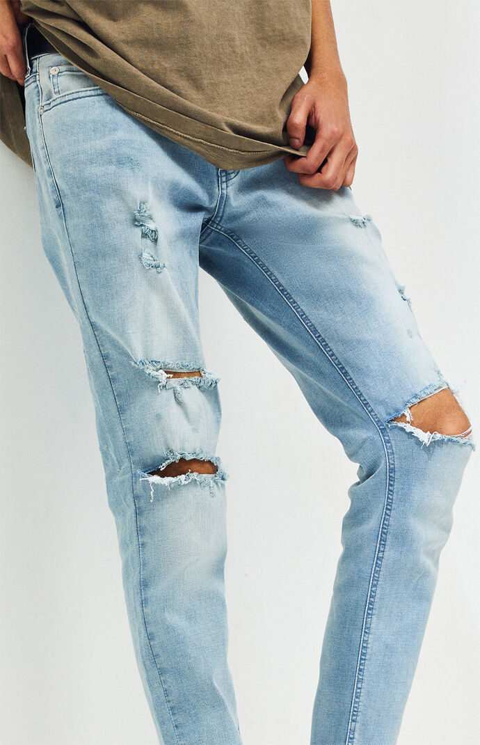Light Ripped Skinniest Jeans
