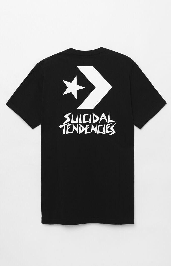 d09eb505ebe9 Converse x Suicidal Tendencies Chevron T-Shirt