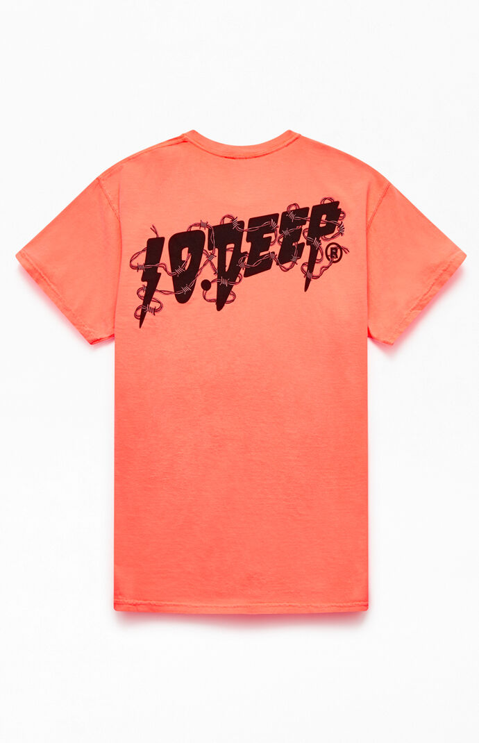 "10DEEP /""Content/"" Short Sleeve Tee Men/'s NYC USA Graphic T-Shirt Black"