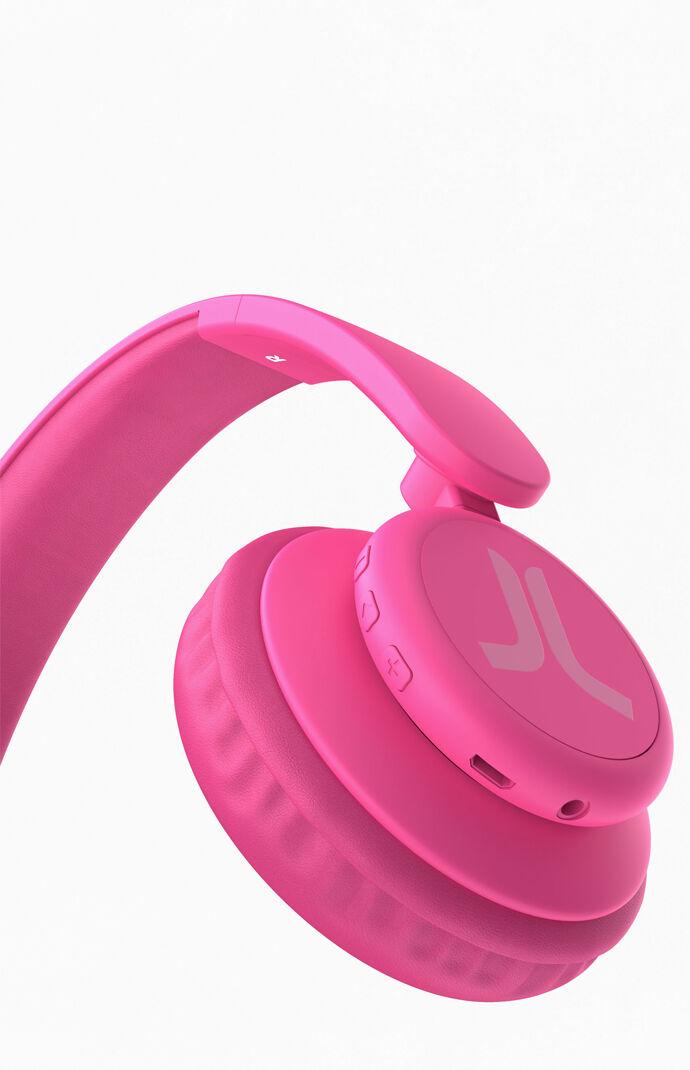 Pink On-Ear Headphones