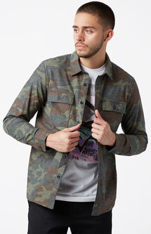 Woodland Long Sleeve Button Up Shirt