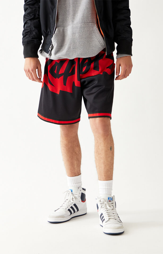 Big Face Raptors Basketball Shorts