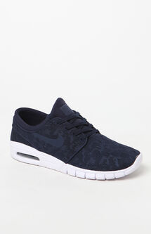 Stefan Janoski Max Navy Shoes