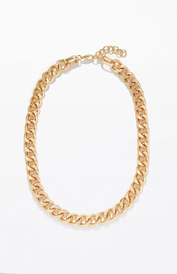 40 cm Curb Chain Necklace