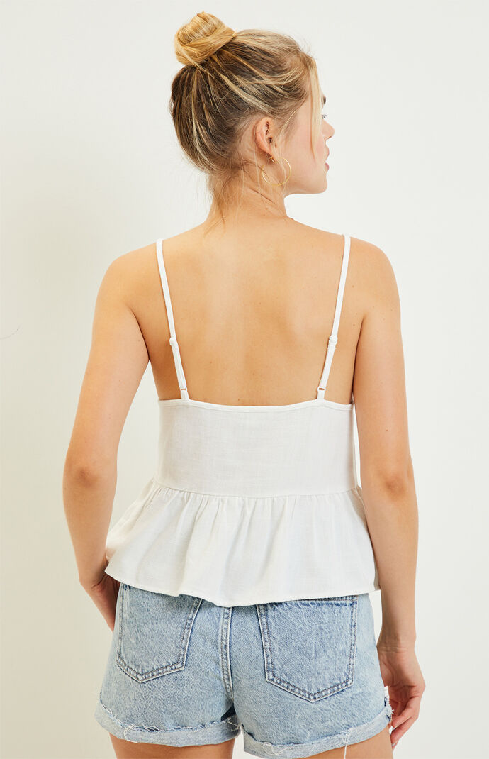 Basic Babydoll Tank Top