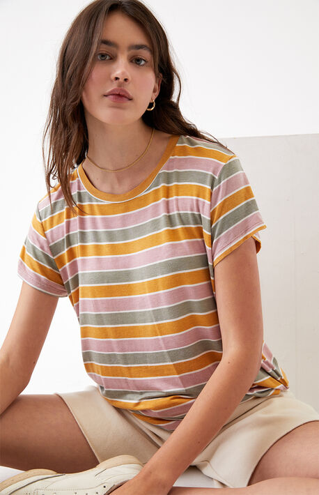 Striped Recess 3 T-Shirt