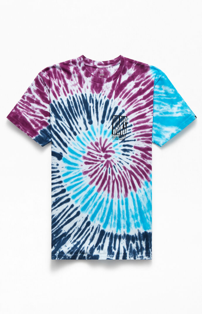 Tie-Dyed Blocked In T-Shirt