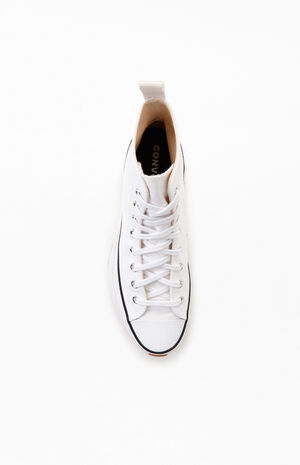 White Run Star Hike High Top Shoes image number null