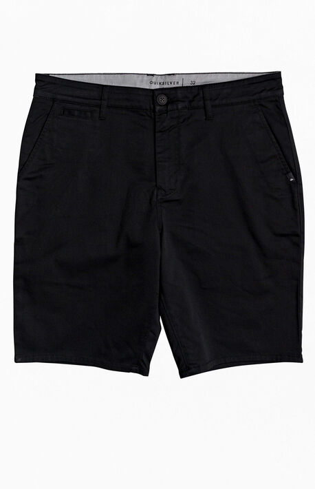 Black Everyday Union Chino Shorts